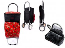 6959 RED OWL 2 Wheel Cooler Bag Shopping Trolley