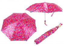 CASAVIA PINK/BLUE FLOWER PRINT UMBRELLA