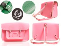 15 BABY PINK BACKPACK OXBRIDGE SATCHEL