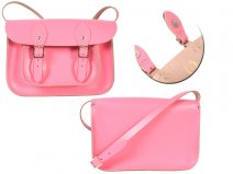 11 BABY PINK MAGNETIC ENGLISH SATCHEL