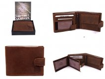 1007 HUNTER TAN LEATHER WALLET