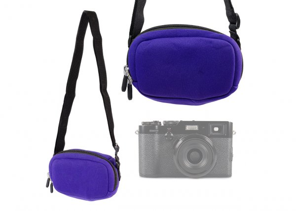 Kodak compact camera case purple