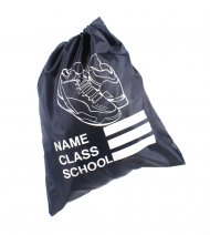 SHOE SCHOOL GYM BAG NAVY