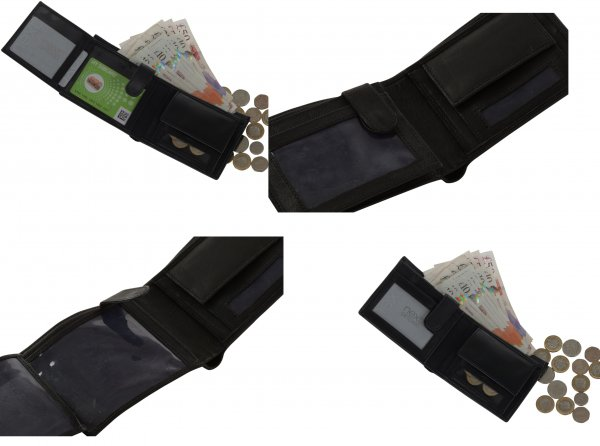 BB4 RFID LEATHER WALLET