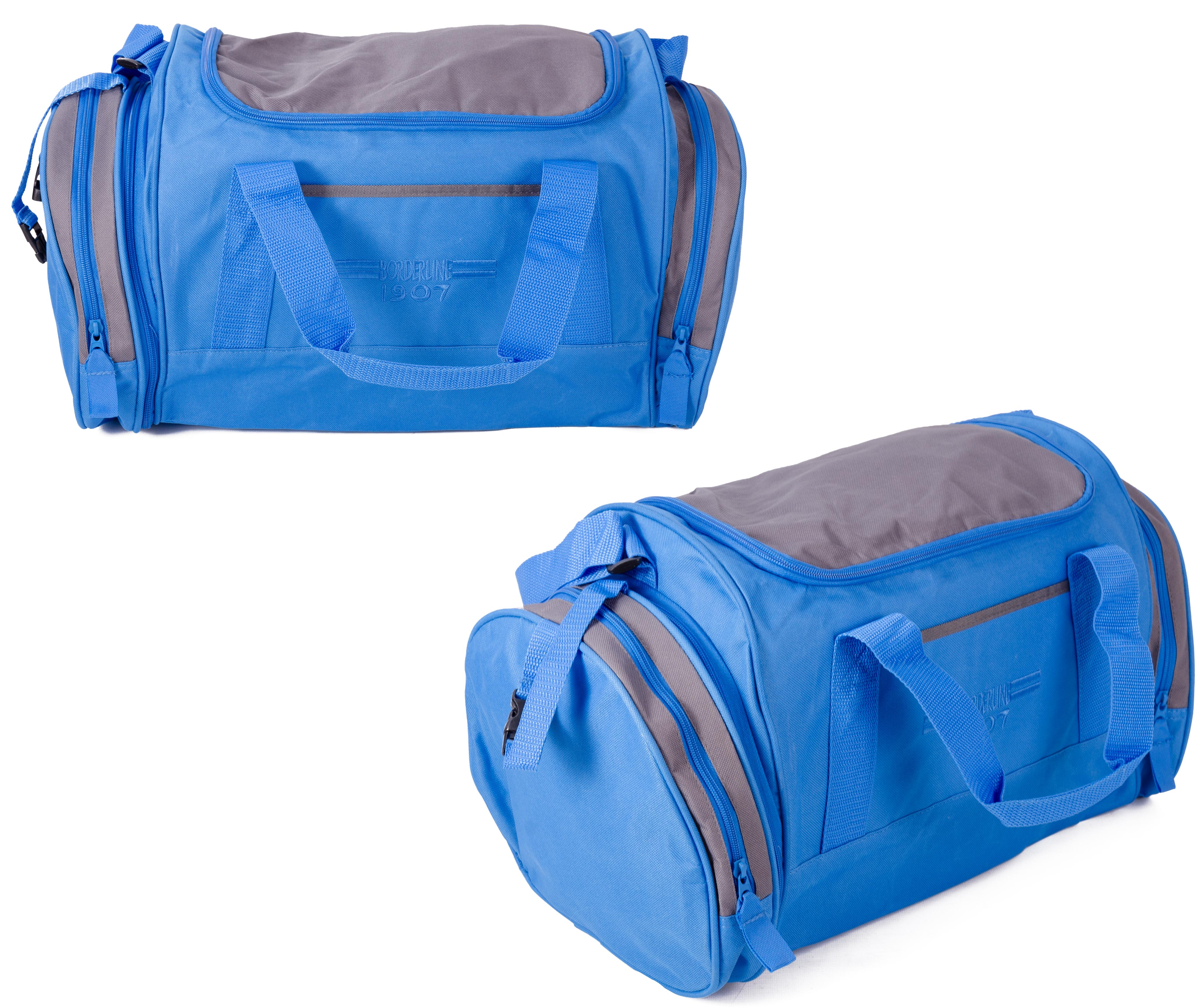JBSB07 BLUE AND GREY HOLDALL